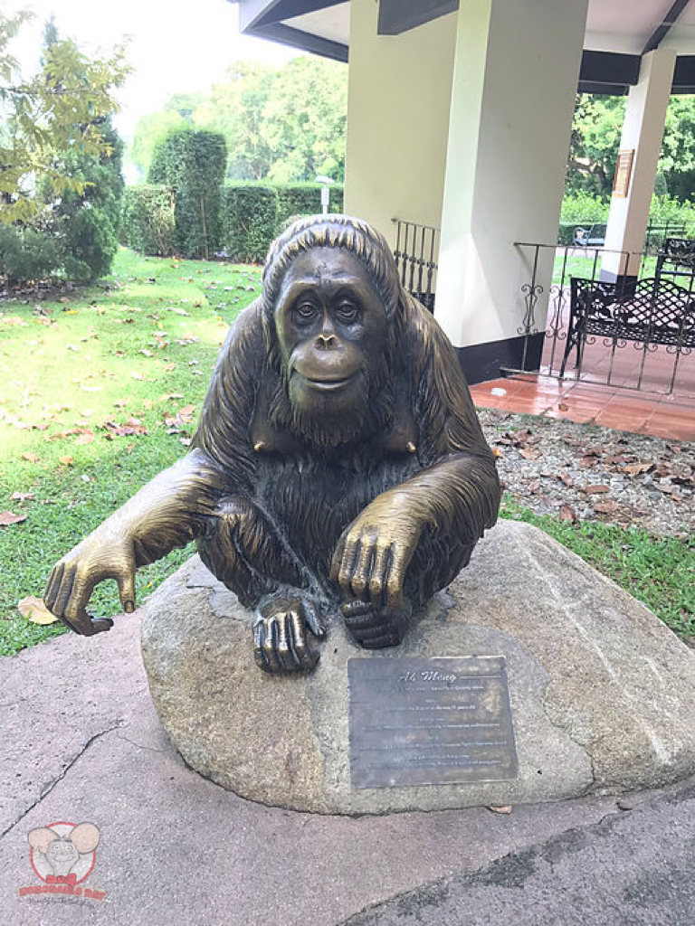 Statue of Ah Meng: The Face of The Singapore Zoo