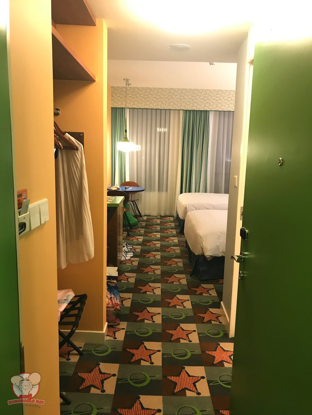 Toy Story Hotel room