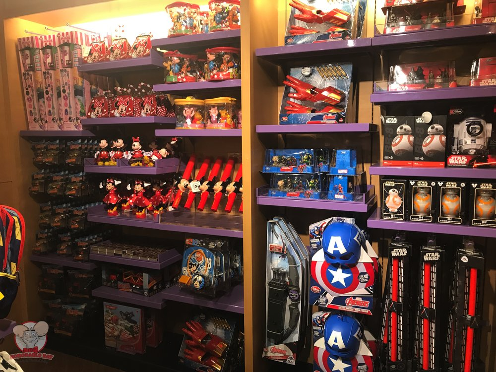 Marvel and Star Wars merchandise
