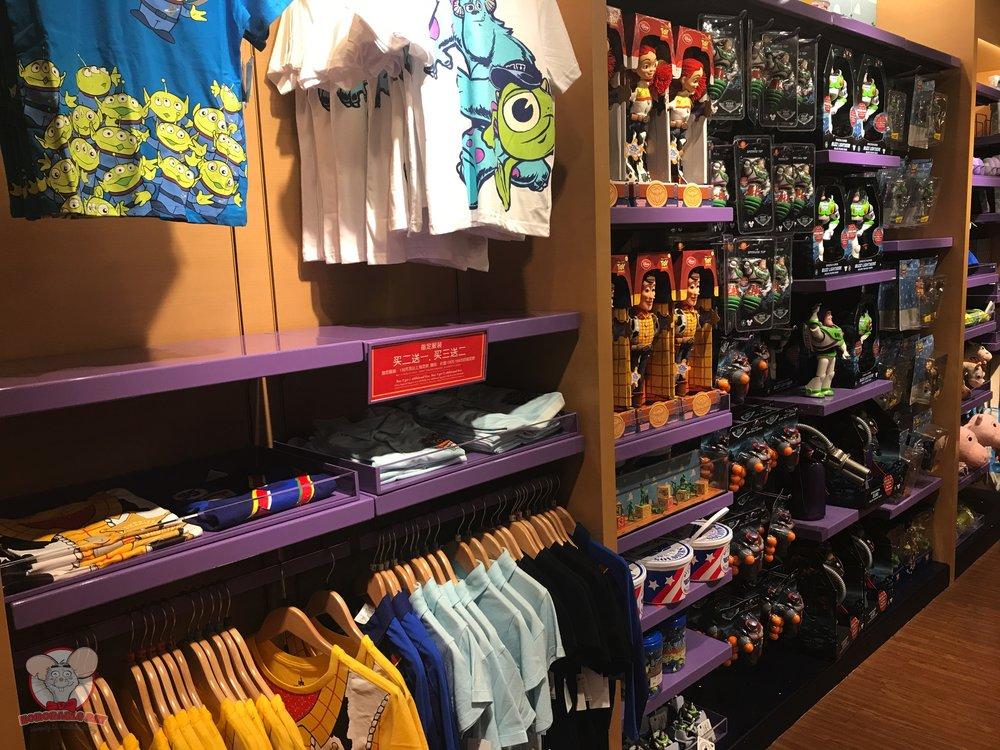 Pixar merchandise
