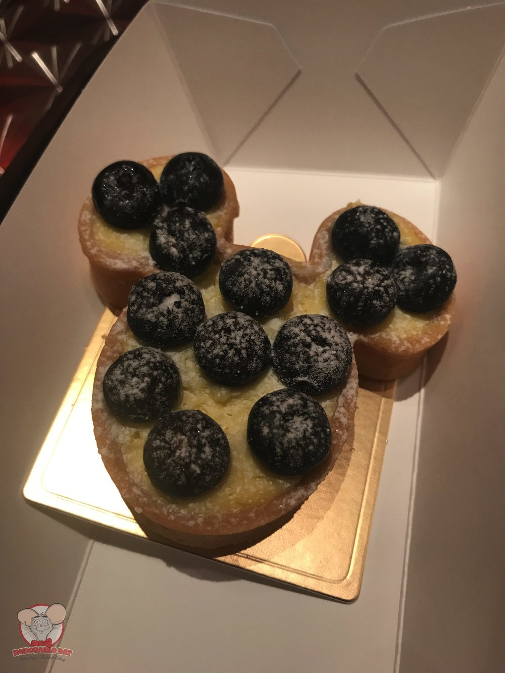 Mickey Blueberry Tart