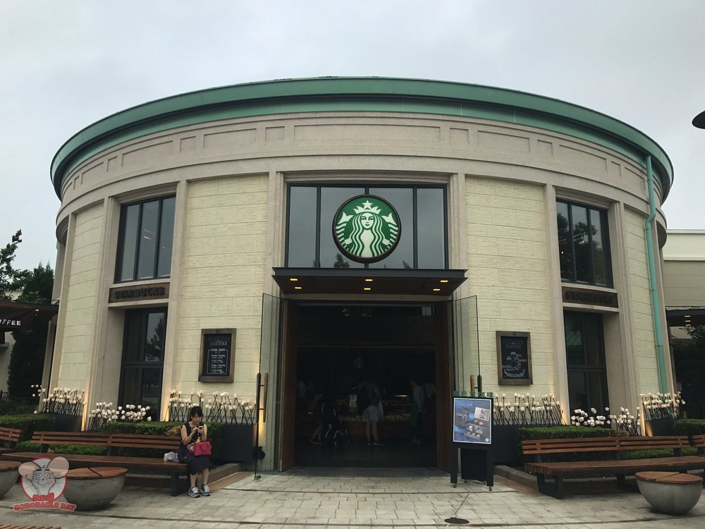 Starbucks in Shanghai Disneytown
