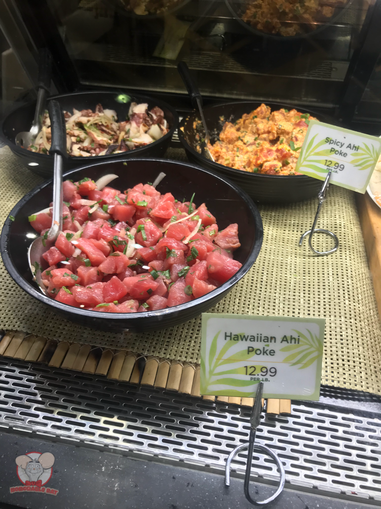 Different types of poke