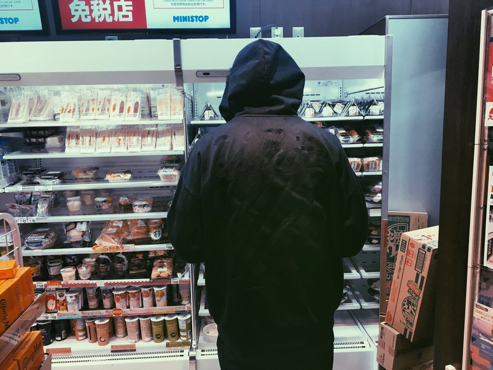 Jerome Lam- looking for food