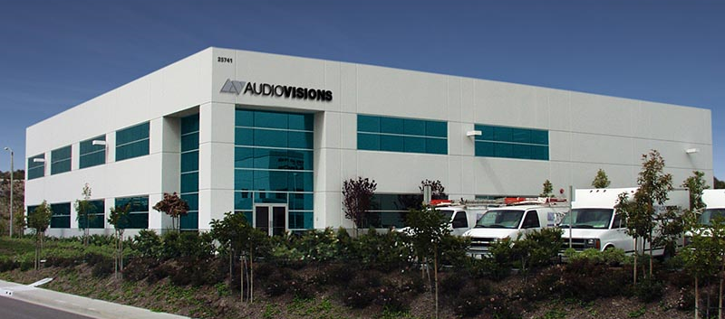 AUDIOVISIONS Headquarters  –  Lake Forest, CA