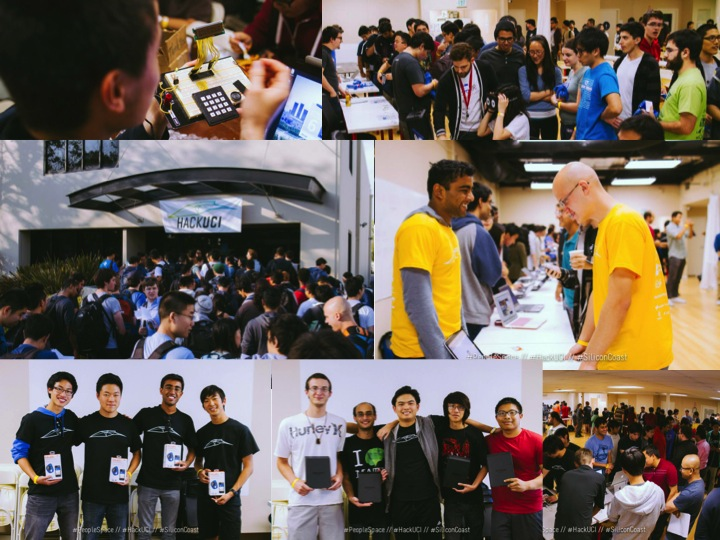 I teamed up with UCI and surrounding institutions to put on HackUCI Hackathon. This is the biggest hackathon we've done in Orange County, CA. With over 250+ participants we're excited for the future.