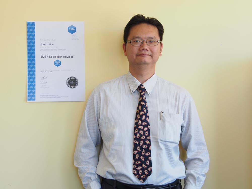 Joseph Hoe   SMSF Specialist Adviser
