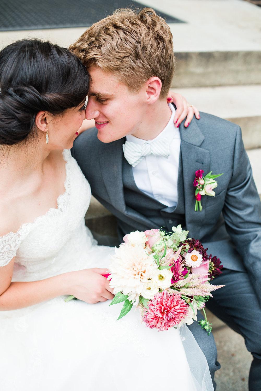 Alyssa & Stephen,August 2015 |Photographs by  Alison Dunn Photography