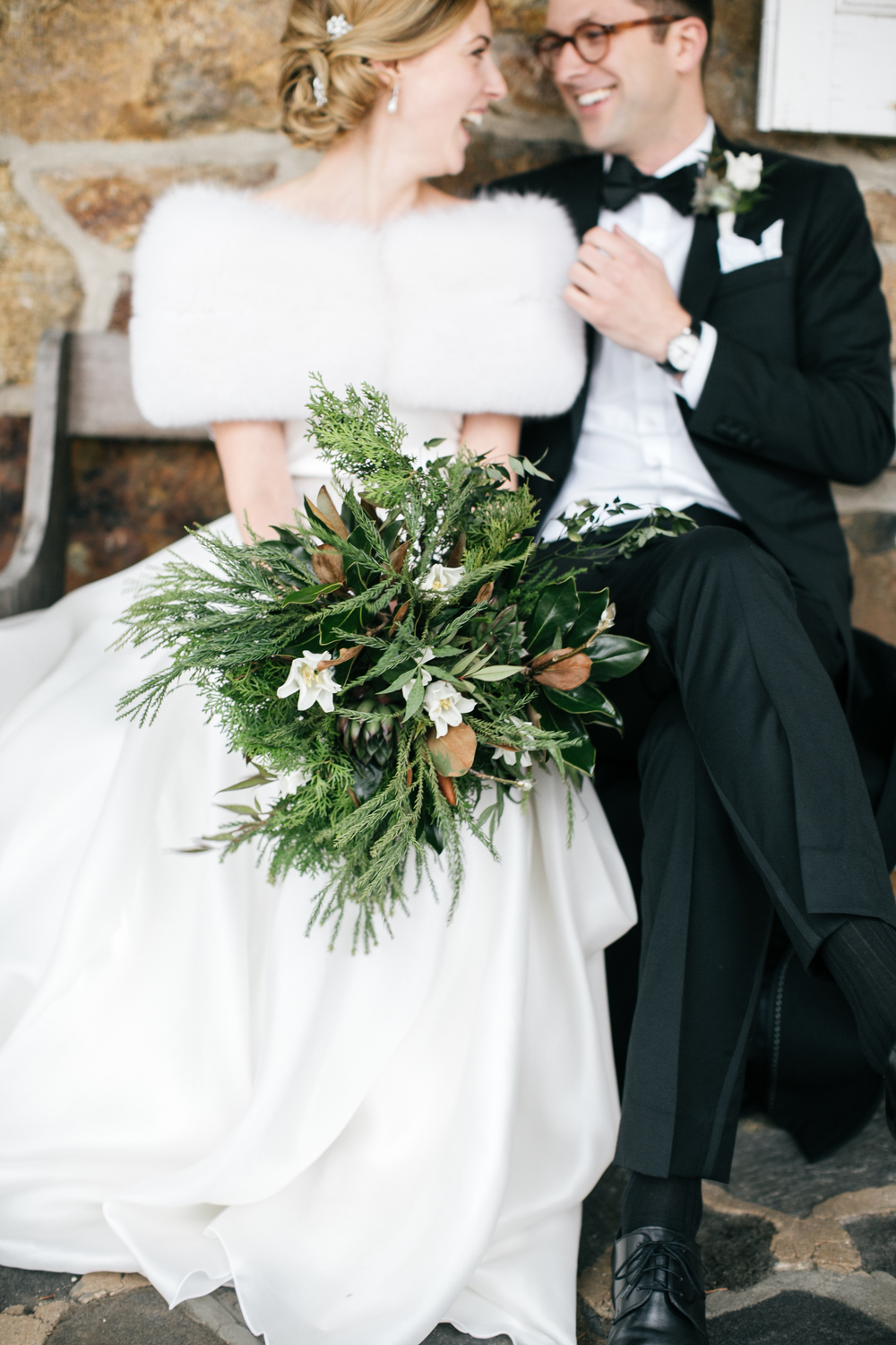 Claire & Scott, December 2014 | Photographs by  Emily Wren Photography