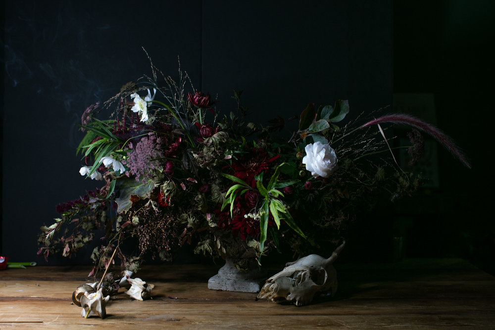 Dutch Masters floral inspiration by CHICORY. Photograph by Neal Santos.