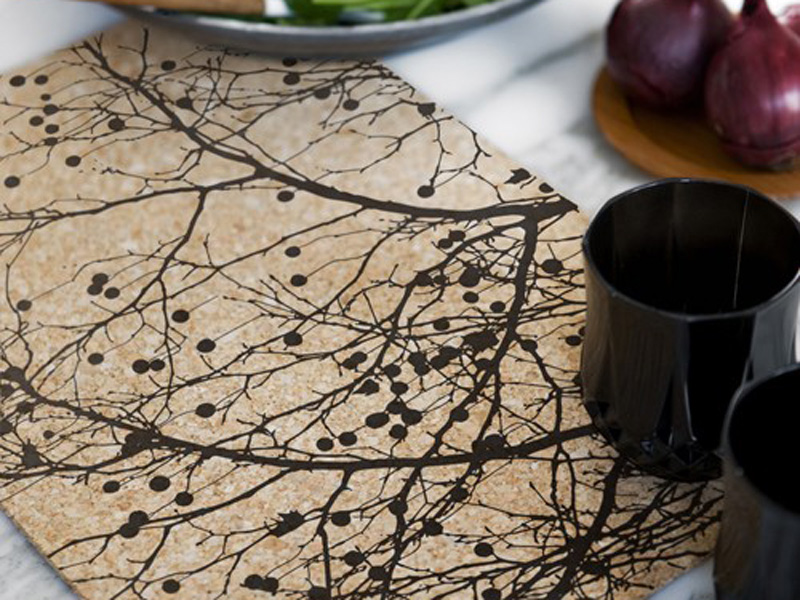 TREE BOMB CORK PLACE MAT