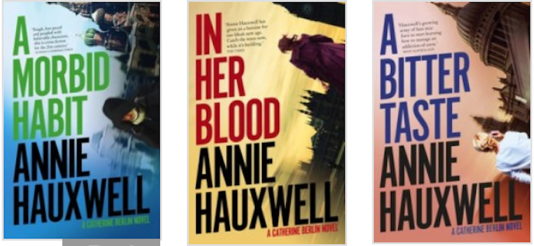 Catch up on the full Catherine Berlin series by Annie Hauxwell
