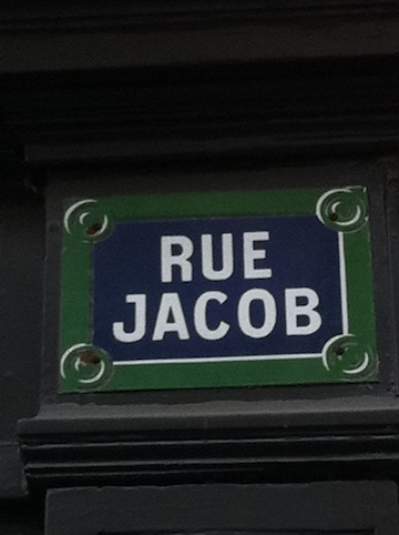 If you visit one Rue in Paris ...