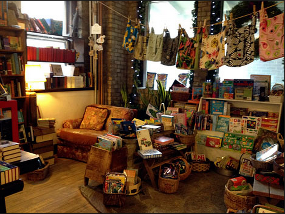 Wild Rumpus Bookshop. Looks like I could settle in here for the afternoon!