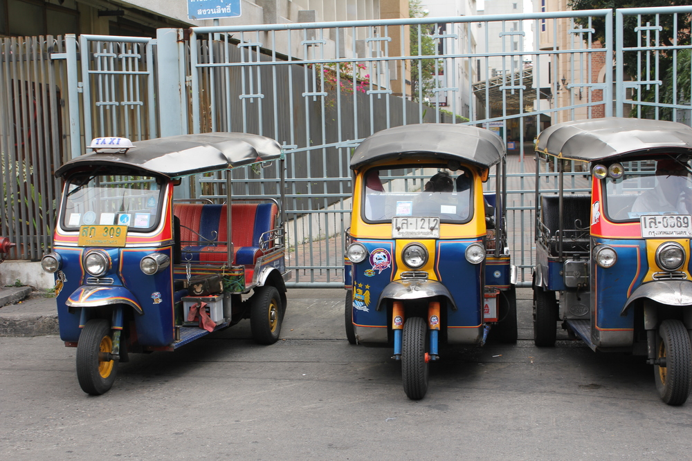The tuk-tuks are more economical (and much more fun!). Pic: Kirsty Manning-Wilcox