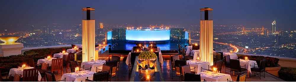 Sirooco's rooftop bar