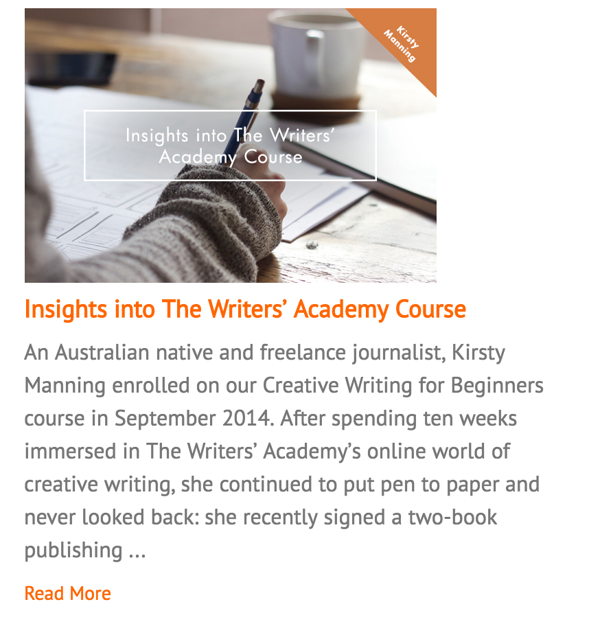 PRH Writer's Academy