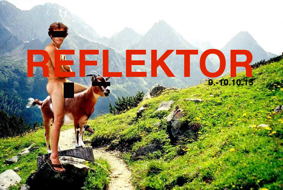 If you´re not on FB, you can follow us and news about Reflektor 2015 over Instagram or here on our website.