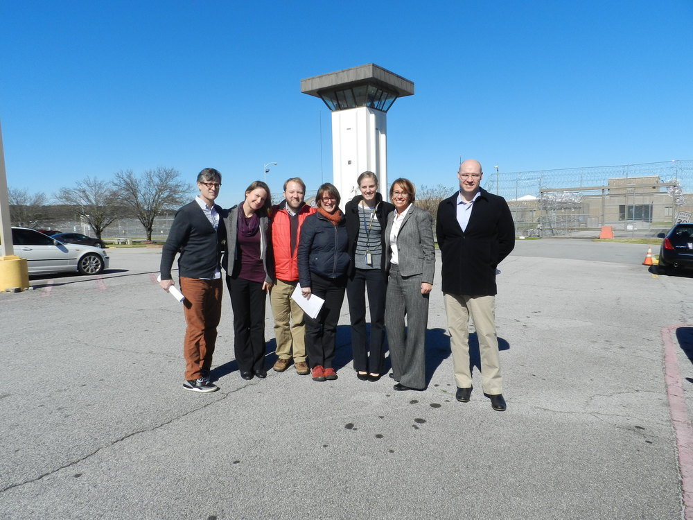 Georgia Tech visits prison for first academic conference, February 5, 2016