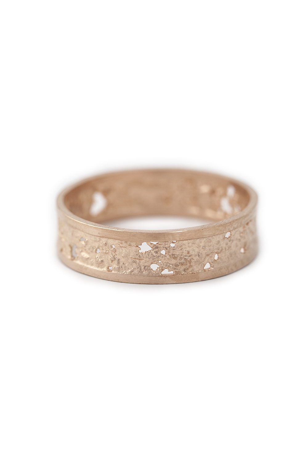 Raw Ring in rose gold, £1260
