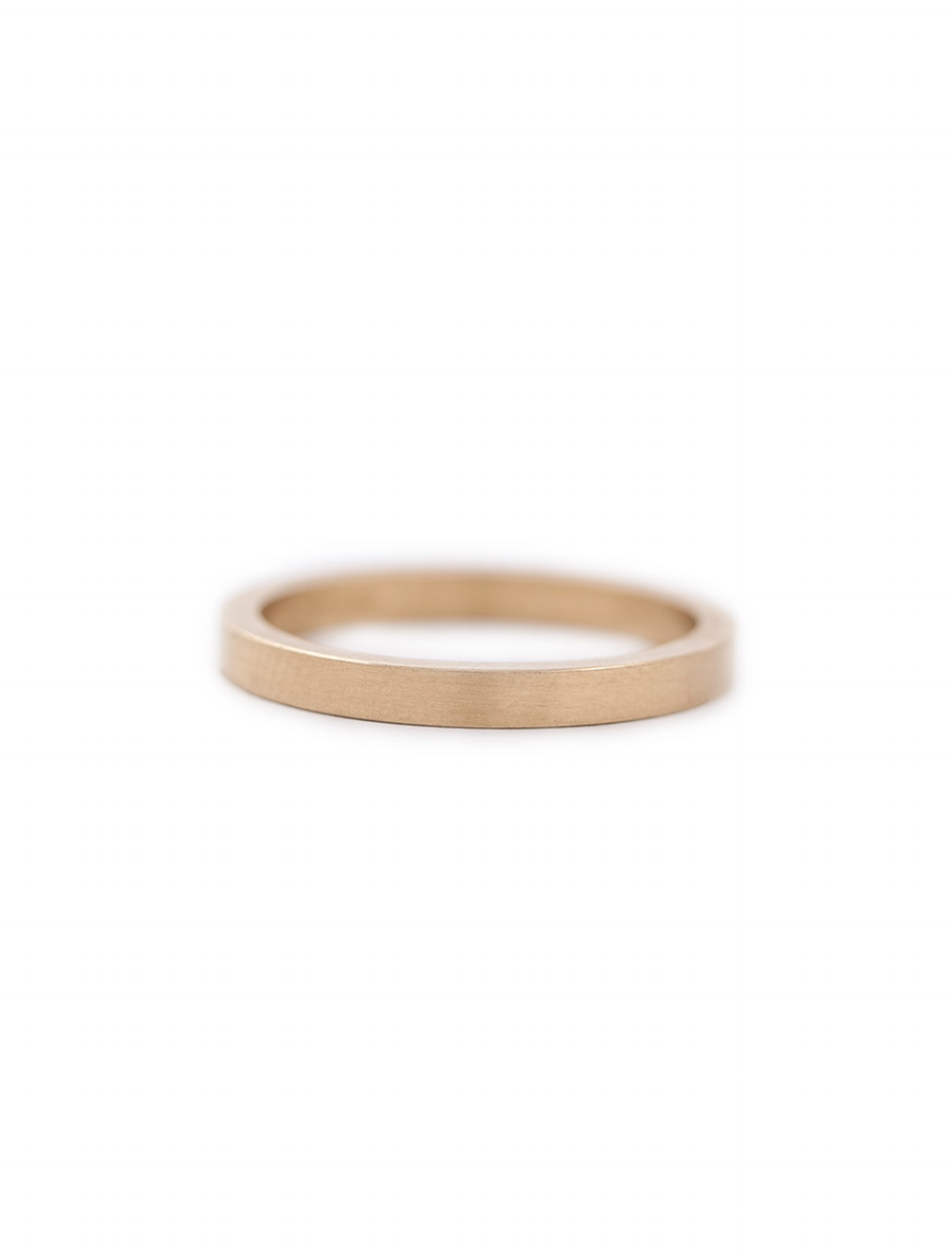 Yellow gold fine band