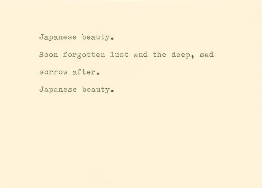 The Artist and Japan
