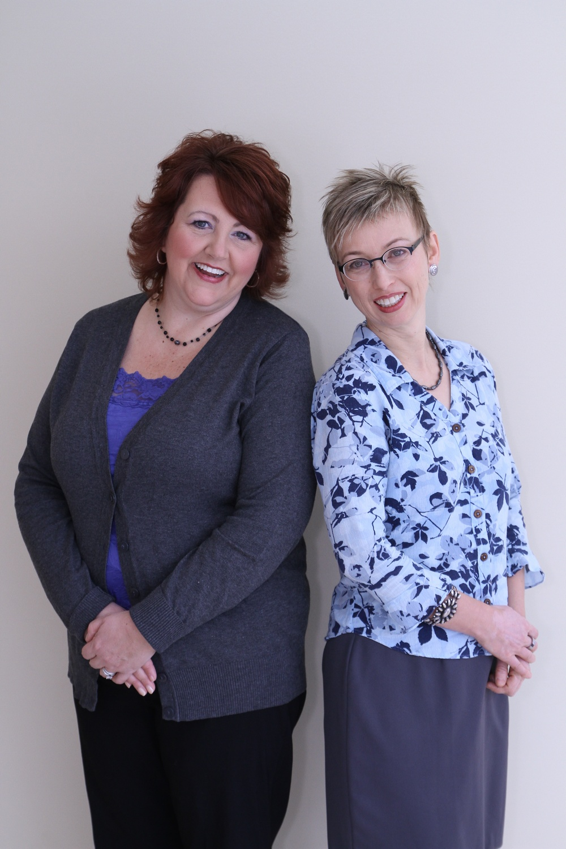 Kim & Karin, office coordinators