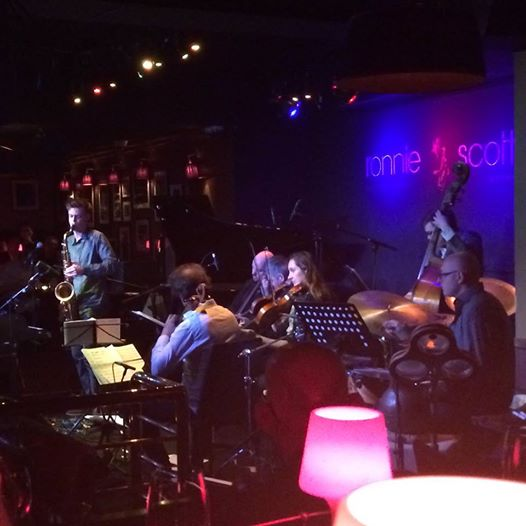 Performing with the String Theory Project at Ronnie Scotts