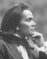 Coretta Scott King Antioch College Founder, Martin Luther King, Jr. Center ‡