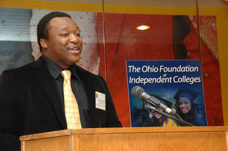 OFIC/UPS Scholar Anthony Sumpter, Ohio Dominican University