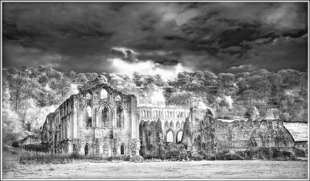 """Winter at Rievaulx"" :: Alan Lovett"