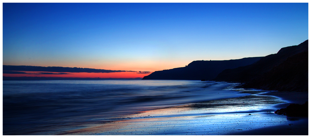 Dawn at Cayton Bay :: Alison Taylor