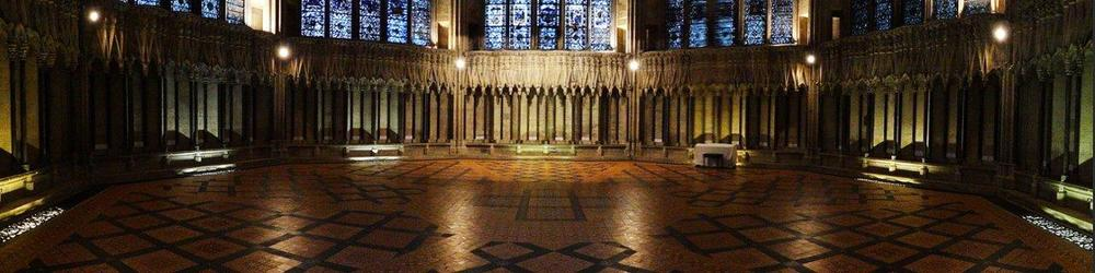 Chapter House, York Minster :: Hilary Holroyd