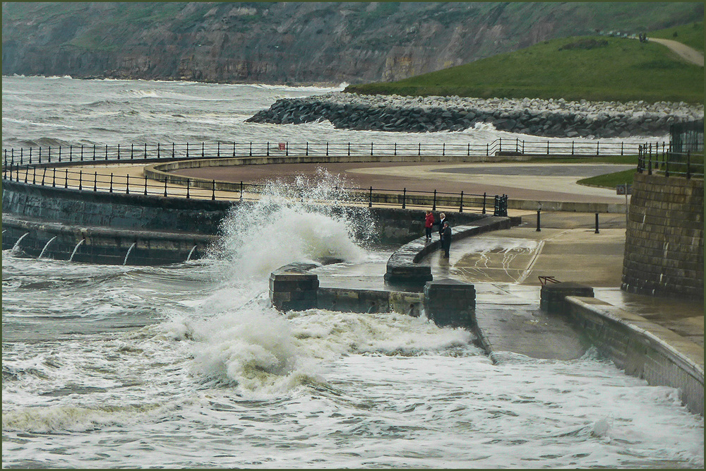"""High Sea, Scarborough"" :: © Anita Sheffield :: All Rights Reserved"