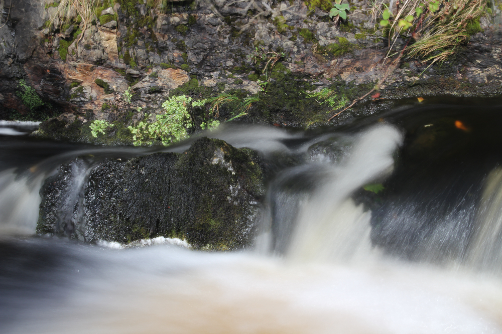 """Waterfall at Elgol"" :: © David Beverley :: All Rights Reserved"