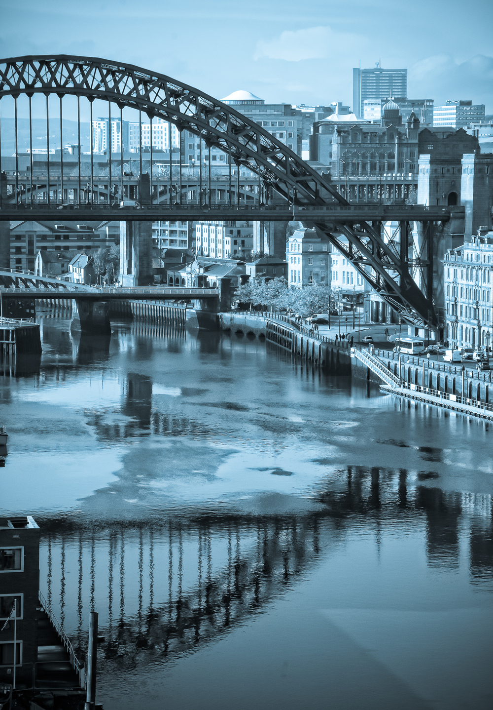 Tyne Bridge from the Baltic :: Image by Peter Bayliss