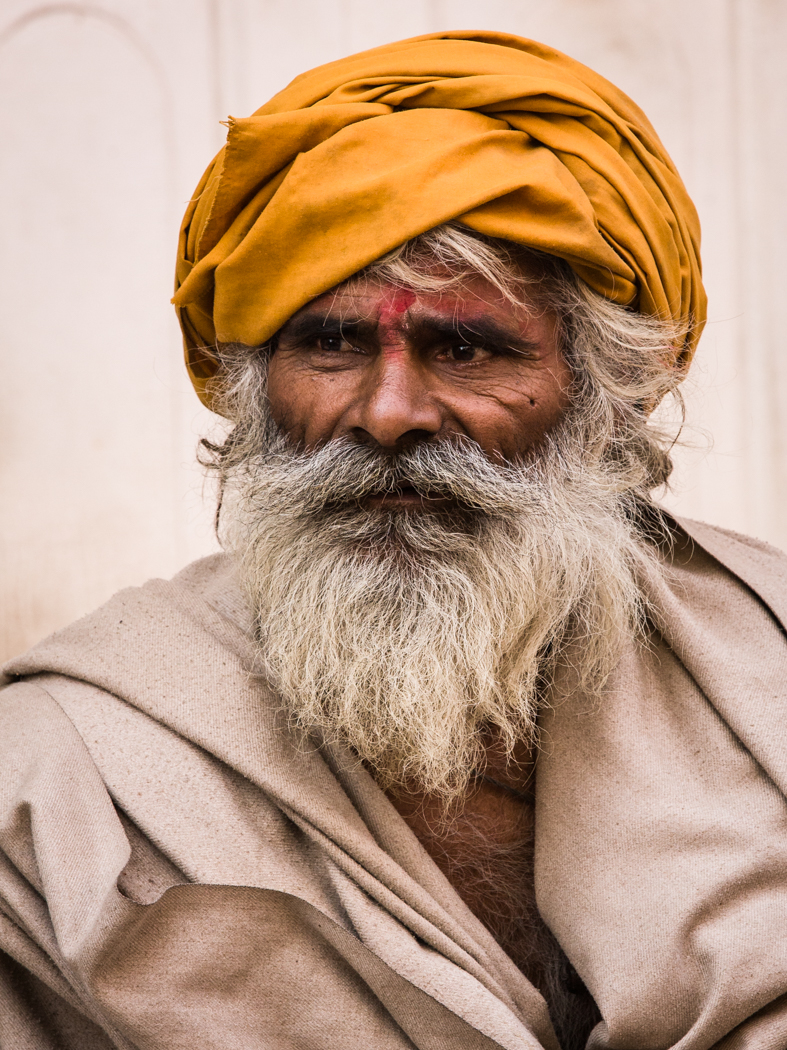 The Man in the Orange Turban :: Winner 2015 YPS Colour Print Competition :: Image © Anthony Emmott