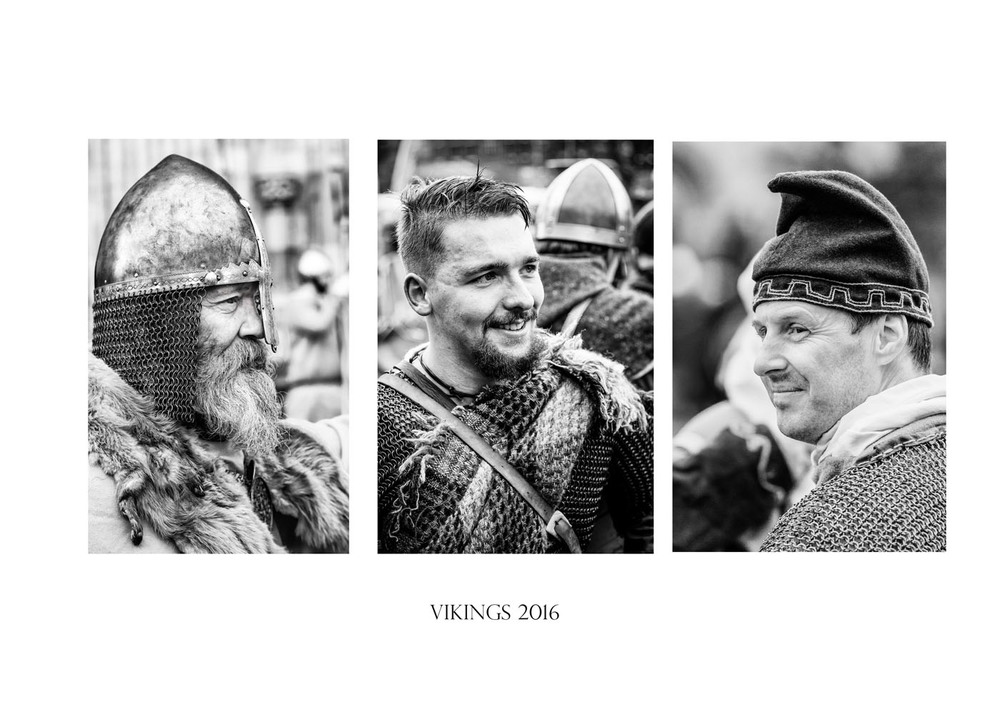"""Vikings"" :: Allan Harris :: All rights reserved"