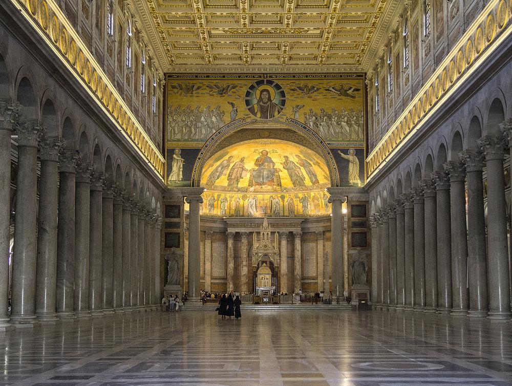 1_St Pauls  Basilica Rome_Keith Hunt.jpg
