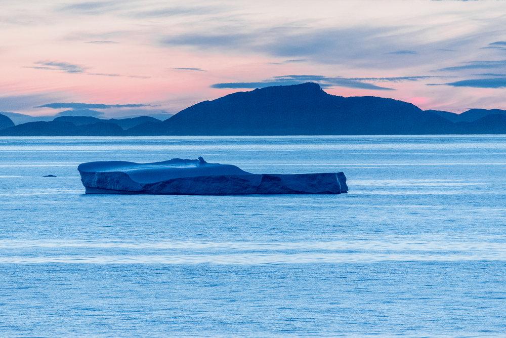 Enroute from Qaqortoq to Nanortalik/SW Greenland
