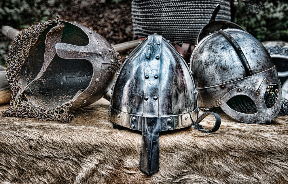 Viking Helmets_Peter Bayliss