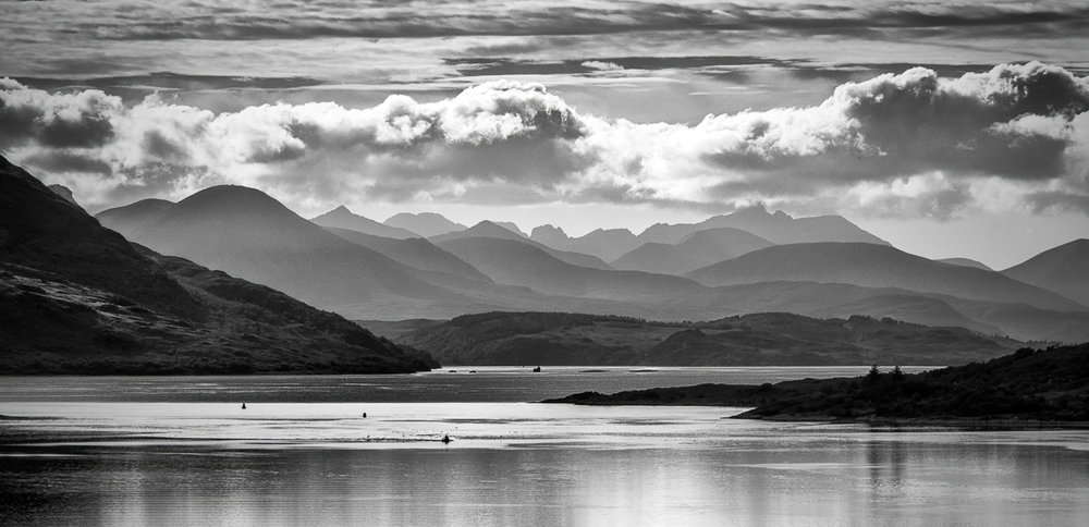 Clouds over the Cuillin