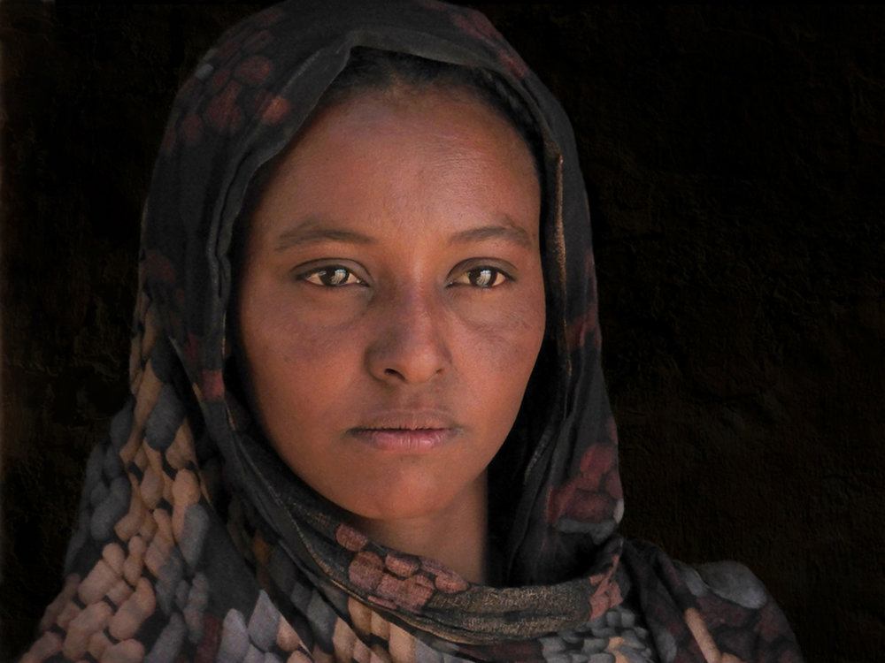 Sudanese Girl by Dave Gough