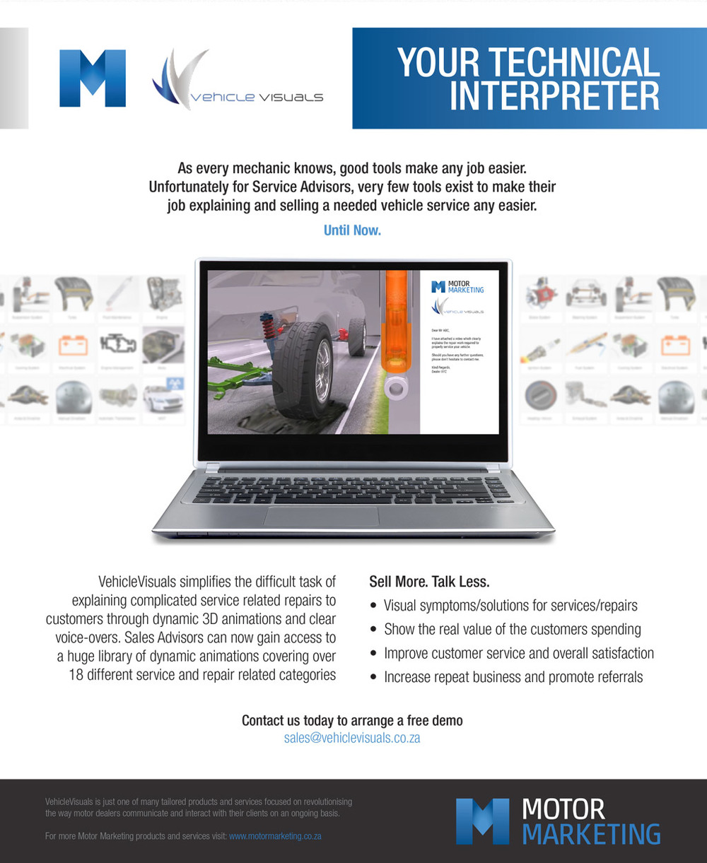VehicleVisuals - Your Technical Interpreter