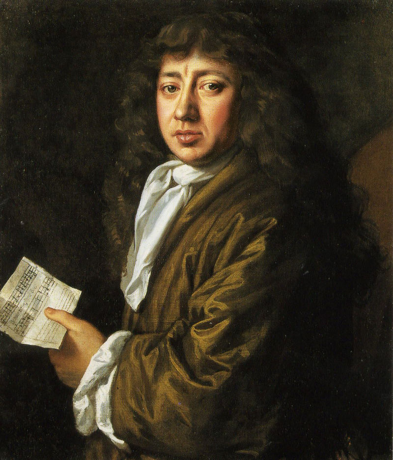 Samuel Pepys, oil on canvas, by John Hayls (1666).    Now at the National Portrait Gallery, London (NPG 211).  Photo by author.