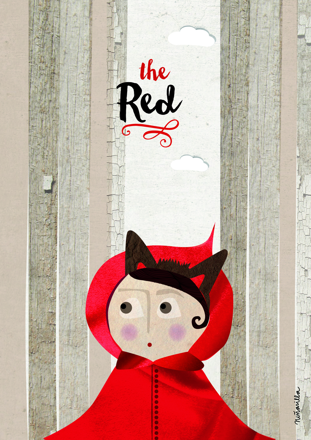 The red&the wolf - A different story about the famous fairy tale ..