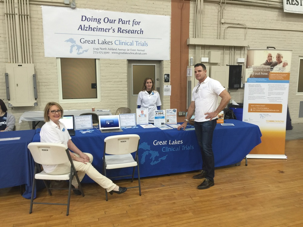 Great Lakes' Clinical Trials Team Members, Maura Stefanik, Megon Holldorf and Dean Hervochon