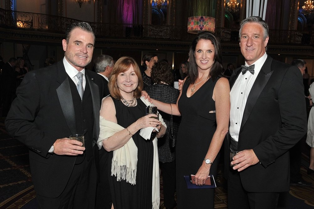 Dean Hervochon, Dr. Linda Rice, Heidi Berke and Steve Satek at Swedish Covenant Hospital's Annual Gala