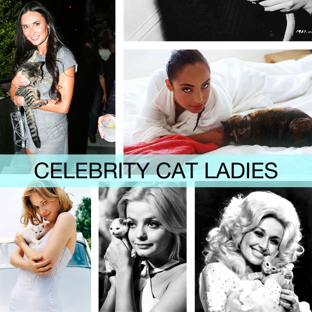 The 50 Most Fabulous (and Famous) Cat Ladies of All Time  for  New York Magazine 's The Cut  September 2013