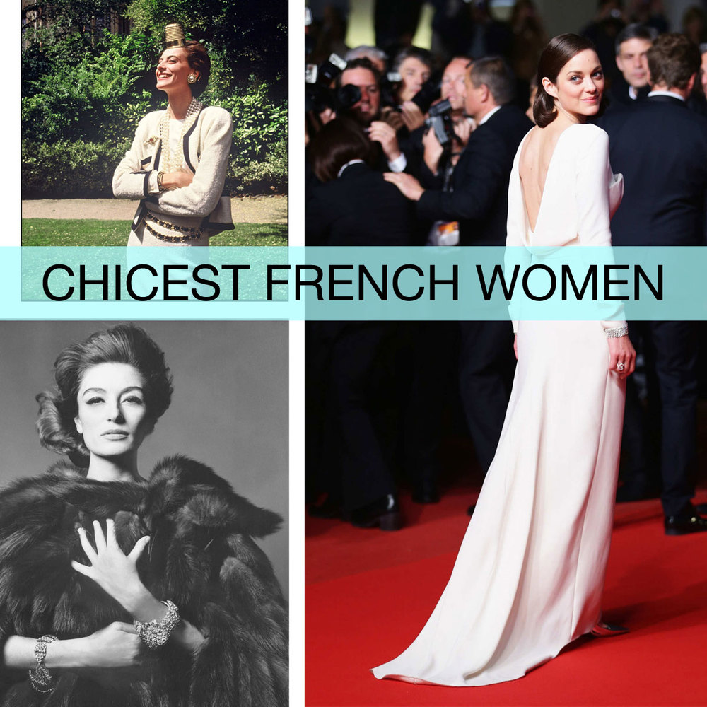The 50 Chicest French Women Ever  for  New York Magazine 's The Cut  July 2013